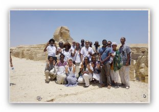 Group Pic Trip to Egypt 2015