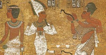 Ancient Egyptian Priest with Asr