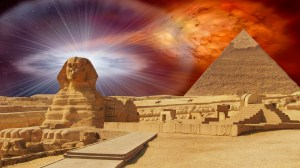 Heru and Great Pyramid Color