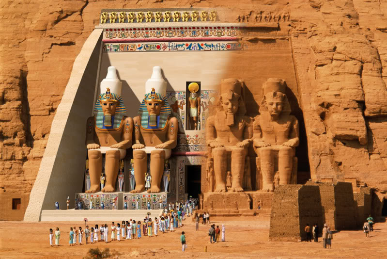 Temple of Abu Simbel 2